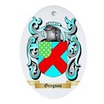 Gregson 2 Ornament (Oval)