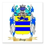 Gregr Square Car Magnet 3