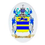Gregorutti Ornament (Oval)