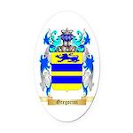 Gregorini Oval Car Magnet