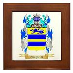 Gregorini Framed Tile