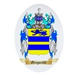 Gregoretti Ornament (Oval)