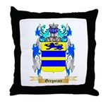 Gregorace Throw Pillow