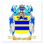 Gregor Square Car Magnet 3