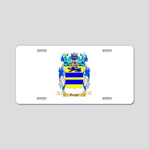 Gregor Aluminum License Plate