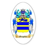 Gregolin Sticker (Oval 10 pk)