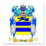 Gregh Square Car Magnet 3