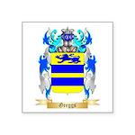 Greggs Square Sticker 3