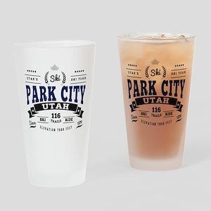 Park City Vintage Drinking Glass