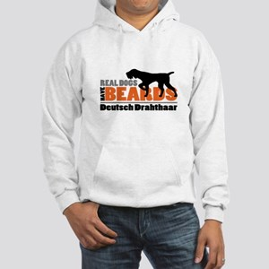 Real Dogs Have Beards - DD Hooded Sweatshirt