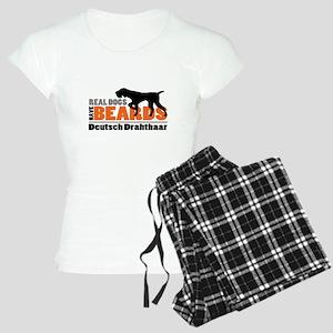 Real Dogs Have Beards - DD Women's Light Pajamas