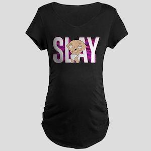 Family Guy Stewie Slay Maternity Dark T-Shirt