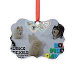 Husky Hockey WOOF Games 2014 Ornament
