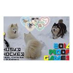 Husky Hockey WOOF Games 2014 Postcards (Package of