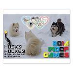 Husky Hockey WOOF Games 2014 Posters