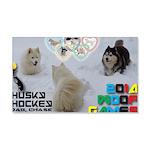 Husky Hockey WOOF Games 2014 Wall Decal