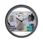 Husky Hockey WOOF Games 2014 Wall Clock