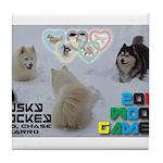 Husky Hockey WOOF Games 2014 Tile Coaster