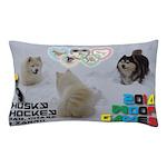Husky Hockey WOOF Games 2014 Pillow Case