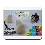 Husky Hockey WOOF Games 2014 Mousepad