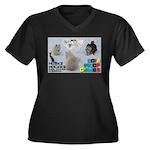 Husky Hockey WOOF Games 2014 Plus Size T-Shirt