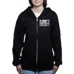 Husky Hockey WOOF Games 2014 Women's Zip Hoodie