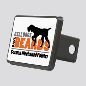 Real Dogs Have Beards - Gw Rectangular Hitch Cover
