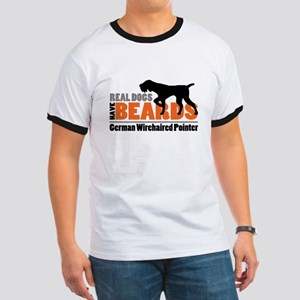 Real Dogs Have Beards - GWP Ringer T