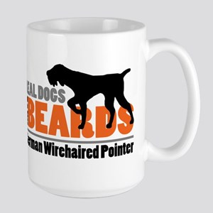 Real Dogs Have Beards - GWP Large Mug