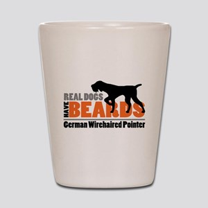 Real Dogs Have Beards - GWP Shot Glass