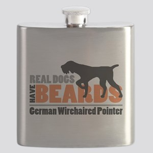 Real Dogs Have Beards - GWP Flask