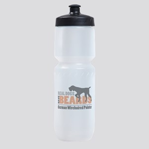 Real Dogs Have Beards - GWP Sports Bottle