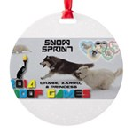 Snow Sprint WOOF Games 2014 Ornament