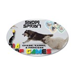 Snow Sprint WOOF Games 2014 Wall Decal
