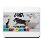 Snow Sprint WOOF Games 2014 Mousepad