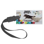 Snow Sprint WOOF Games 2014 Luggage Tag