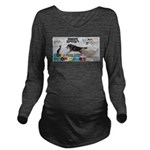 Snow Sprint WOOF Games 2014 Long Sleeve Maternity