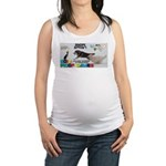 Snow Sprint WOOF Games 2014 Maternity Tank Top