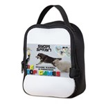 Snow Sprint WOOF Games 2014 Neoprene Lunch Bag