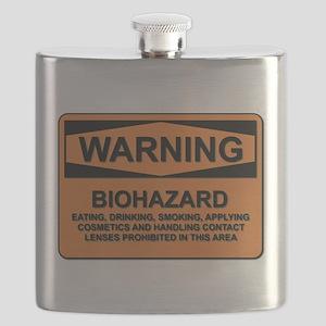 Biohazard - warning - 5 Flask