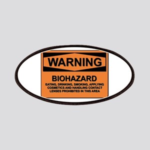 Biohazard - warning - 5 Patches
