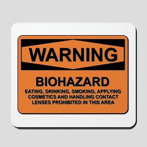 Biohazard - warning - 5 Mousepad