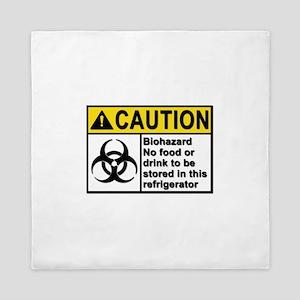 Biohazard - Caution - 5 Queen Duvet