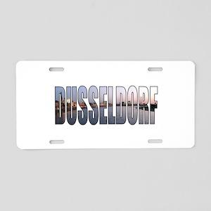 Dusseldorf Aluminum License Plate