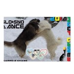 Slo-Sno Dance WOOF Games 2014 Postcards (Package o