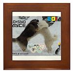 Slo-Sno Dance WOOF Games 2014 Framed Tile
