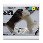 Slo-Sno Dance WOOF Games 2014 Tile Coaster