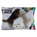 Slo-Sno Dance WOOF Games 2014 Pillow Case