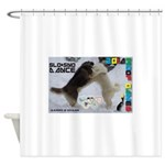 Slo-Sno Dance WOOF Games 2014 Shower Curtain