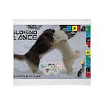 Slo-Sno Dance WOOF Games 2014 Throw Blanket